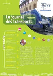 Le Journal des Transports n°77 - ORT PACA