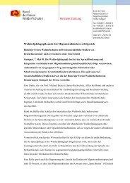 Waldorfpädagogik auch bei Migrantenkindern erfolgreich - Bund der ...
