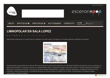 Limnopolar en Sala Lopez - SALA LÓPEZ