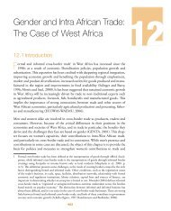 Gender and Intra African Trade: The Case of West Africa - MCLI