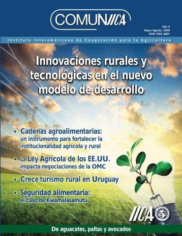 Innovaciones rurales y tecnológicas en el nuevo modelo - Instituto ...