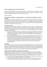 Aftale om satspuljen på det sociale område 2012-2015