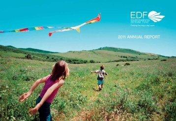 EDF Annual Report 2011 - Environmental Defense Fund