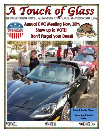 Central Valley Corvettes - November 2014 Magazine