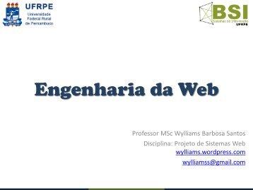 Aula 3 - Engenharia da Web