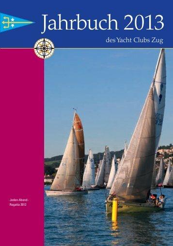 Jahrbuch 2013 - Yacht Club Zug