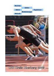 Jahrbuch 2009 - LVN Oberberg