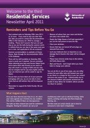 April 2011 Residential Services E Newsletter.pdf - DocuShare