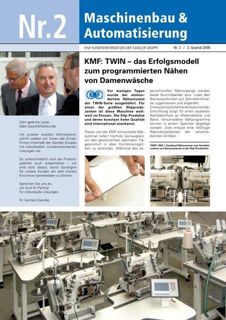 Maschinenbau & Automatisierung - ZIEGLER Produktionssysteme