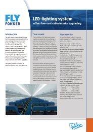 LED-lighting system - Fokker