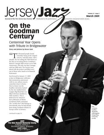 On the Goodman Century - New Jersey Jazz Society