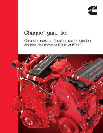 ChaqueMC garantie. - Cummins Engines