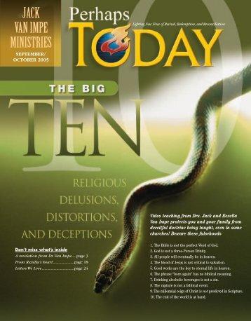 on 6:8). - Jack Van Impe Ministries