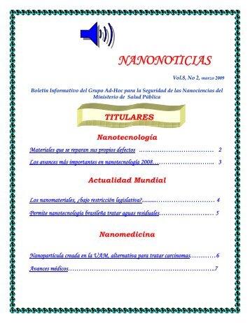 NANONOTICIAS - Cecmed