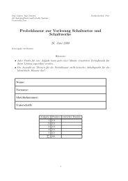 Download der Probeklausur - Systemsoftware und Verteilte Systeme ...
