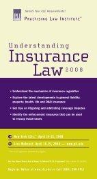 Practising Law Institute's Understanding Insurance ... - Reed Smith