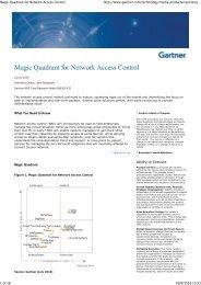 Magic Quadrant for Network Access Control.pdf - WIT
