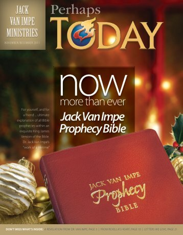 Perhaps - Jack Van Impe Ministries