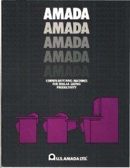 Amada Notcher Brochure - Sterling Machinery