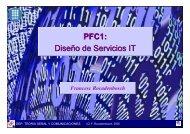 PFC1: diseño de servicios IT (teoria)