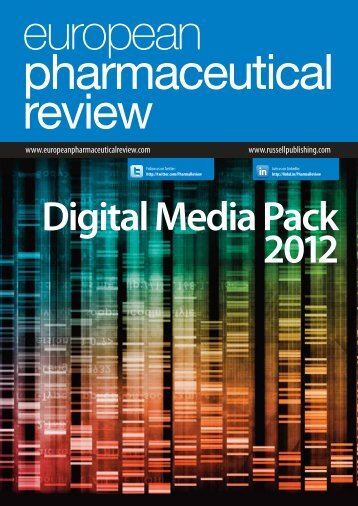 Digital Media Pack - European Pharmaceutical Review