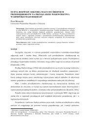 Acta Scientiarum Oeconomia 4 (2) 2005