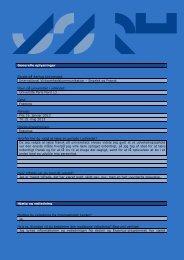 Generelle oplysninger Studie på Aarhus Universitet: International ...