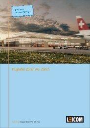 Flughafen Zürich AG_DockB_Lüftung_ Zürich - Leicom AG