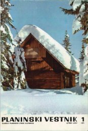 Januar - Planinski Vestnik