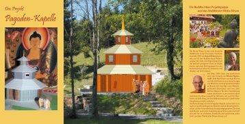 Pagoden-Kapelle - Buddha-Haus