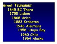 Great Tsunamis:
