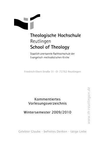 www .th - Theologische Hochschule Reutlingen