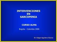 intervenciones en sarcopenia - Academia Latinoamericana de ...