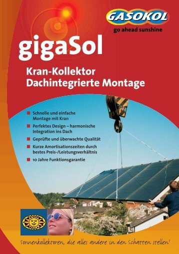 gigaSol KRAN-KOLLEKTOR