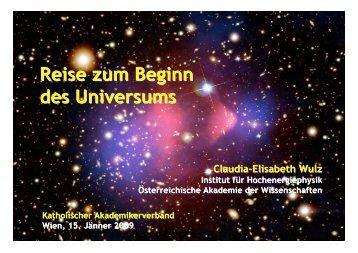 Reise zum Beginn des Universums - HEPHY