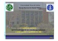 Microsoft PowerPoint 3.0 Template - Escola Nacional de Saúde ...