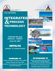 Integrated Design and Process Technology