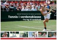 Tennis i verdensklasse