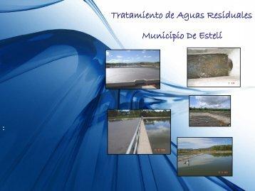 Tratamiento de Aguas Residuales Municipio De Estelí