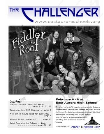 Jan Feb Chall 2009 web.p65 - East Aurora Union Free School