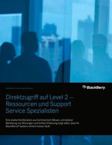 Direktzugriff auf Level 2 – Ressourcen und ... - wireless & mobile