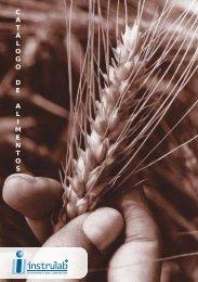 Catálogo de Alimentos - INSTRULAB