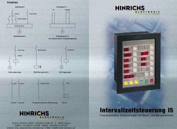 Intervallzeitsteuerung I5 - Hinrichs Electronic