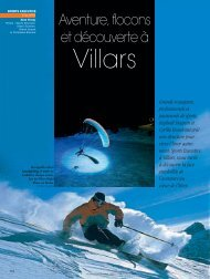 Villars - Magazine Sports et Loisirs