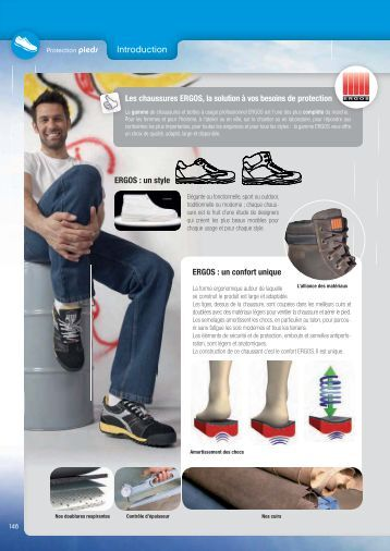 Normes Protection des pieds - Groupe RG