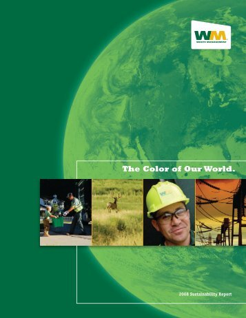 2008 Sustainability Report - Waste Management