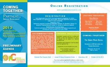 Conference Registration Brochure
