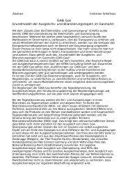 GABi Gas Grundmodell der Ausgleichs- und Bilanzierungsregeln im ...