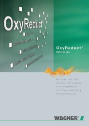 OxyReduct® Referenzen
