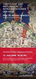 Einladungsflyer - Berlin-Brandenburgische Akademie der ...